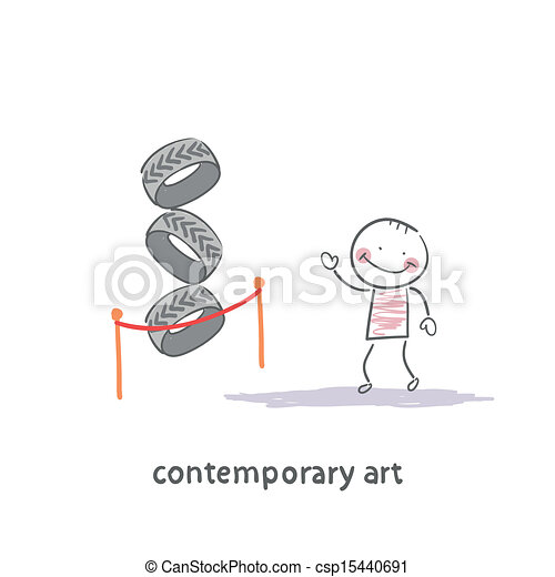 The art gallery - csp15440691