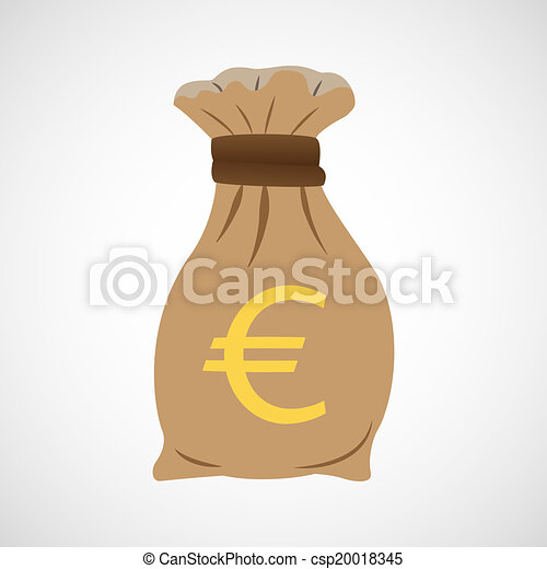 The Bag Of Money Euro
