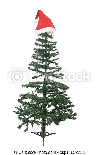 Bare Christmas Tree Clipart.The Bare Christmas Tree Ready To Decorate