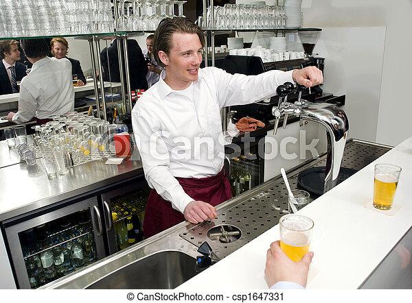 The Barman - csp1647331