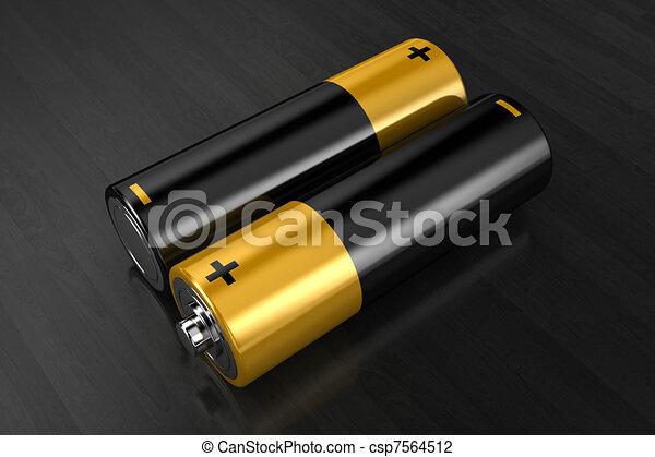 The batteries - csp7564512