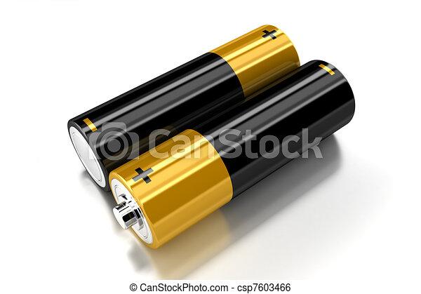 The batteries - csp7603466