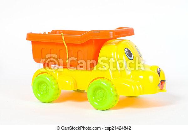 The beach car toy - csp21424842