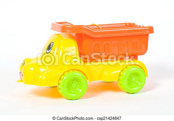 The beach car toy - csp21424847