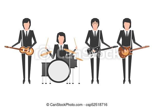 The Beatles band topics - csp52518716
