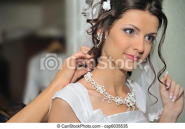 The beautiful bride - csp6035535