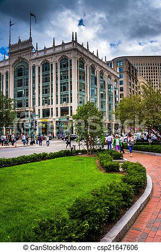 The Berkeley, in Boston, Massachusetts. - csp21647606