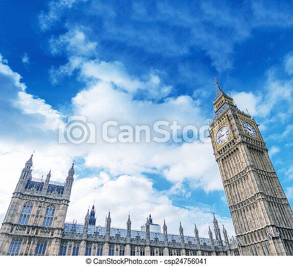 The Big Ben, London - csp24756041