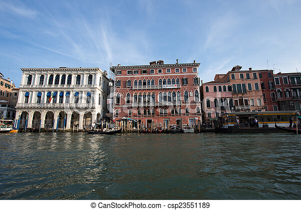The big channel in Venice - csp23551189