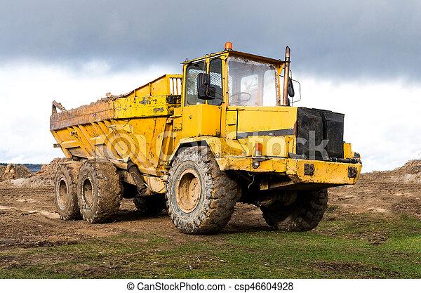 Big Dump Trucks >> The Big Dump Truck