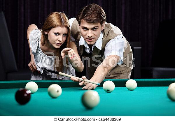 The billiards - csp4488369