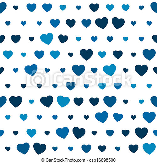 The blue heart seamless background the heart seamless background the blue heart seamless background csp16698500 voltagebd Images