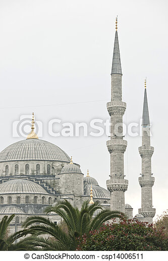 The Blue Mosque in Istanbul, Turkey - csp14006511