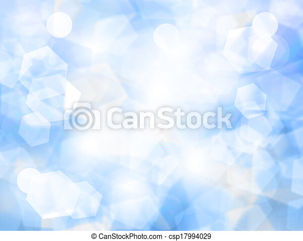 The blue sky with clouds, abstract background - csp17994029
