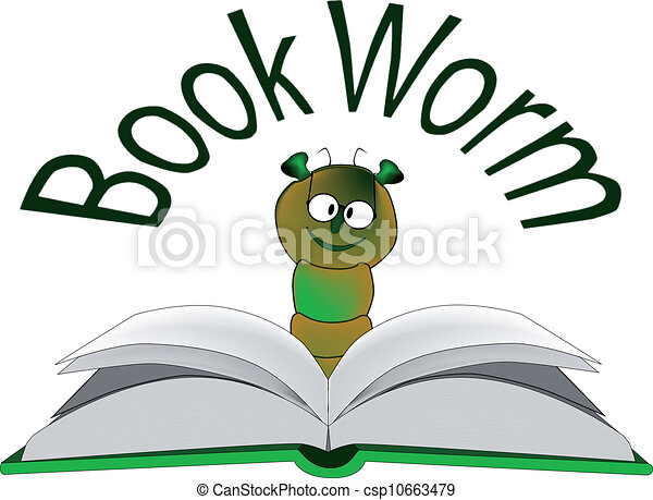 The Bookworm - csp10663479