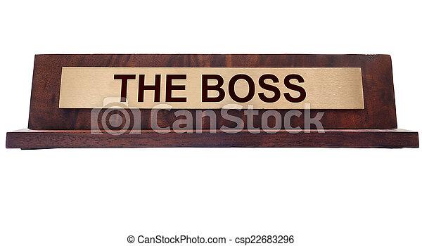 The Boss - csp22683296