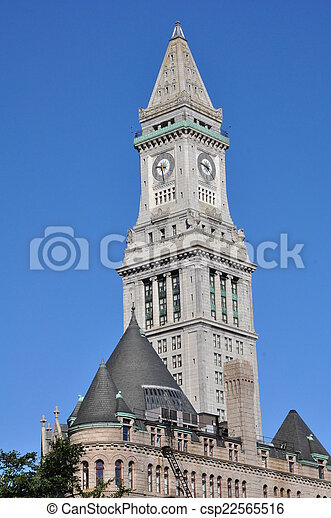 The Boston Custom House - csp22565516