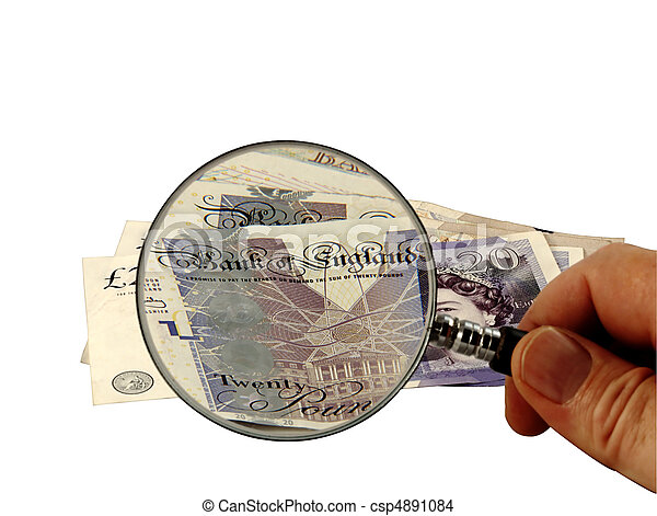 The British Pound under the Magnifying Glass - csp4891084