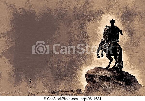 The Bronze Horseman - csp40614634