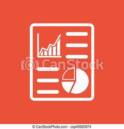 the business report icon audit and analysis document plan symbol