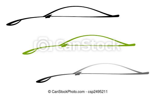 The car - csp2495211