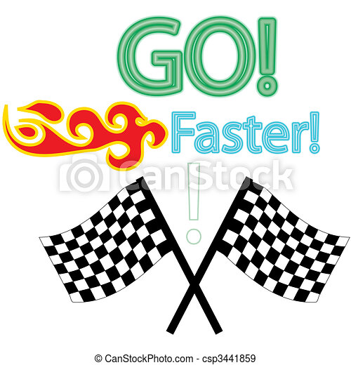 the car race vector pack - csp3441859
