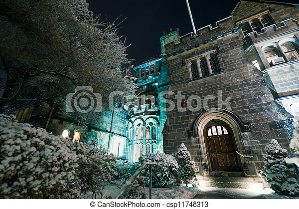 The Castle at Boston University - csp11748313