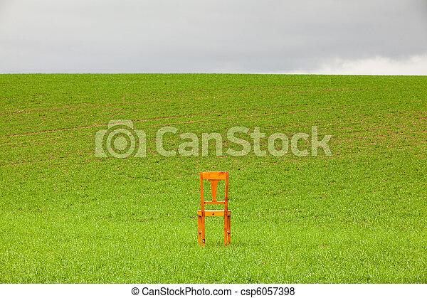 The chair - csp6057398