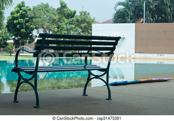The chair pool. - csp31473381