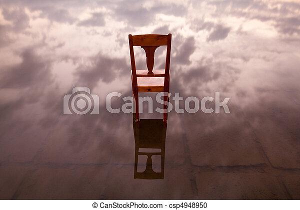 The chair - csp4948950