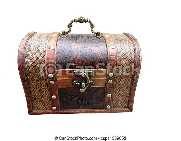The chest. - csp11339058