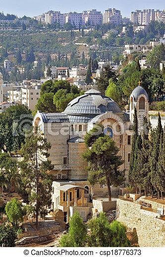 The Church in Jerusalem - csp18776373