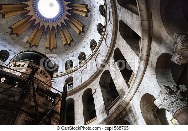 The Church of the Holy Sepulchre - csp15687651