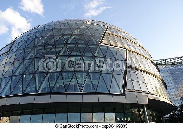The City Hall of London, England, UK - csp30469035