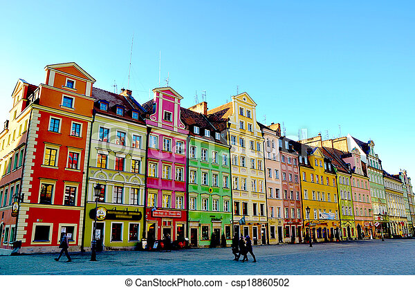 The city of Wroclaw, Poland - csp18860502