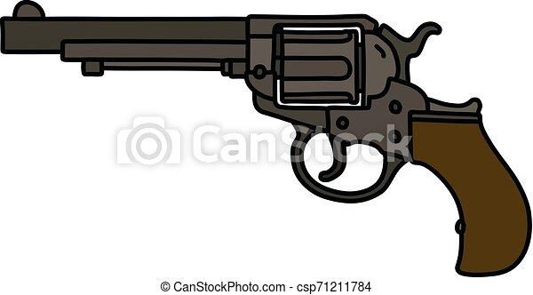 The classic revolver - csp71211784
