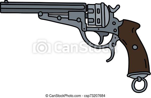 The classic revolver - csp73207684