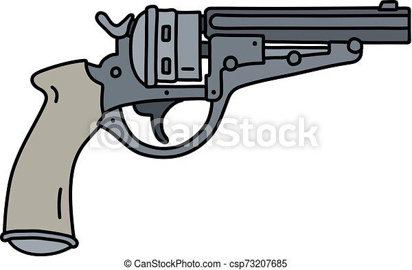 The classic revolver - csp73207685