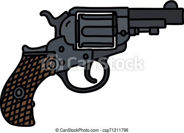 The classic short revolver - csp71211796