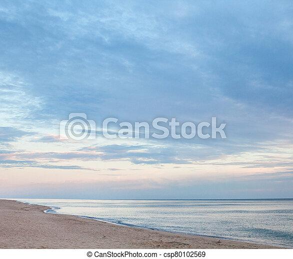 The coast of the Black Sea - csp80102569