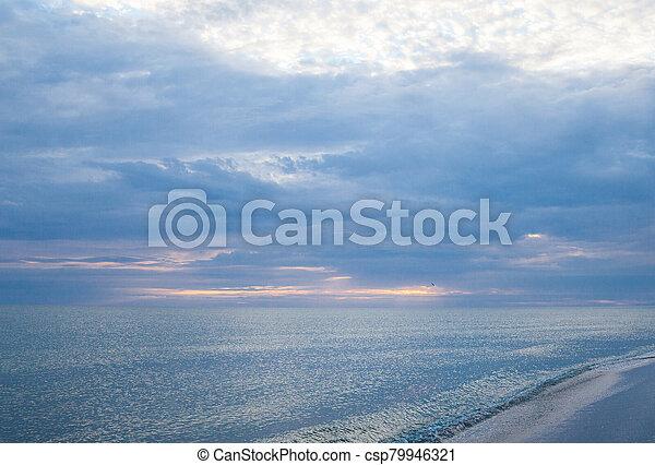 The coast of the Black Sea - csp79946321