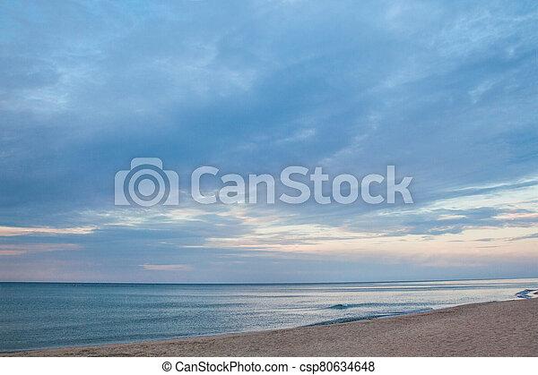 The coast of the Black Sea - csp80634648
