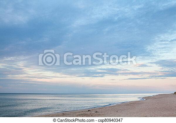The coast of the Black Sea - csp80940347
