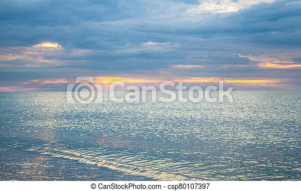 The coast of the Black Sea - csp80107397