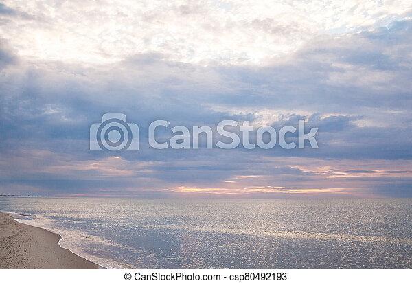 The coast of the Black Sea - csp80492193