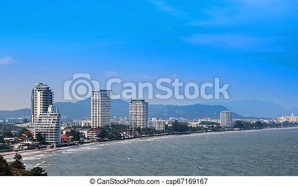 The coastal resort town - csp67169167