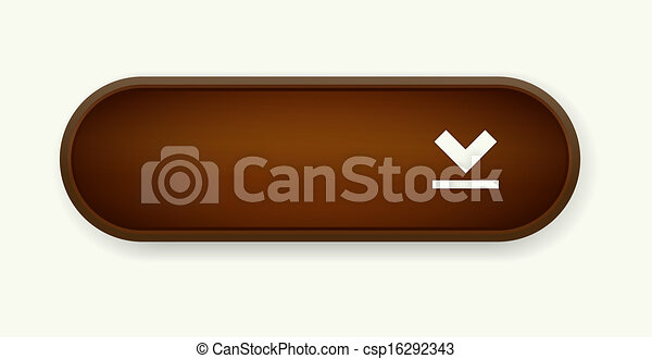 The coffee download button - csp16292343