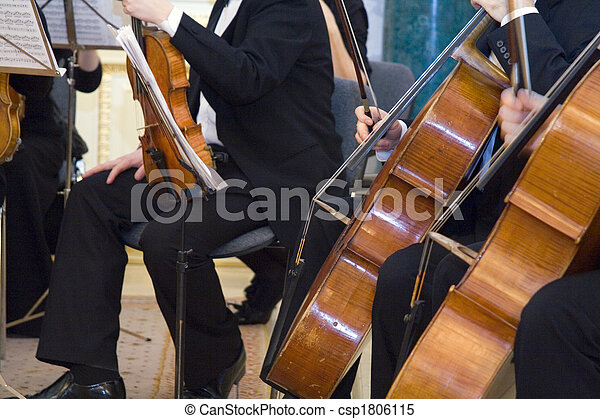 the concert of the classical music - csp1806115