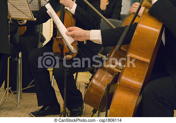 the concert of the classical music - csp1806114