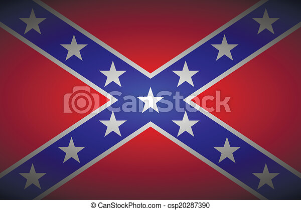 The Confederate flag - csp20287390